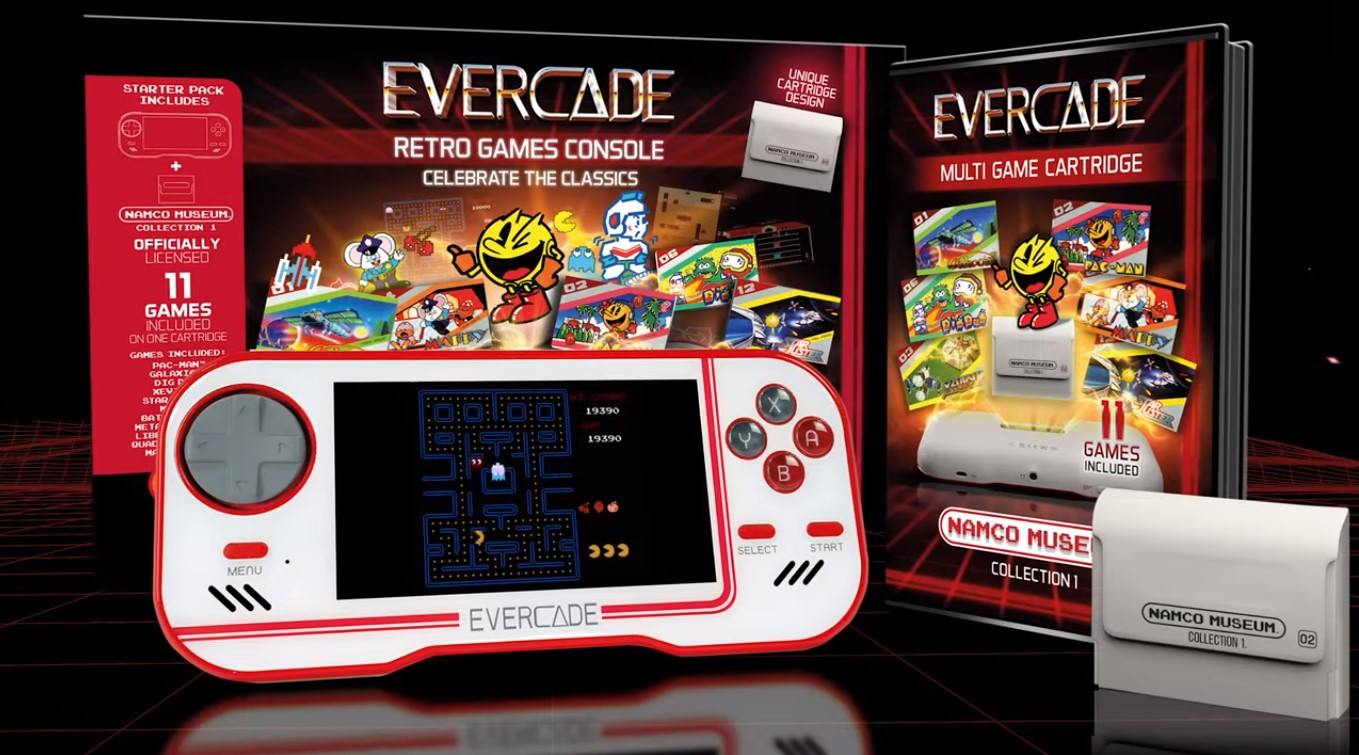 Evercade Merged Brand New Handheld Console With Multiple Classic Retro Games