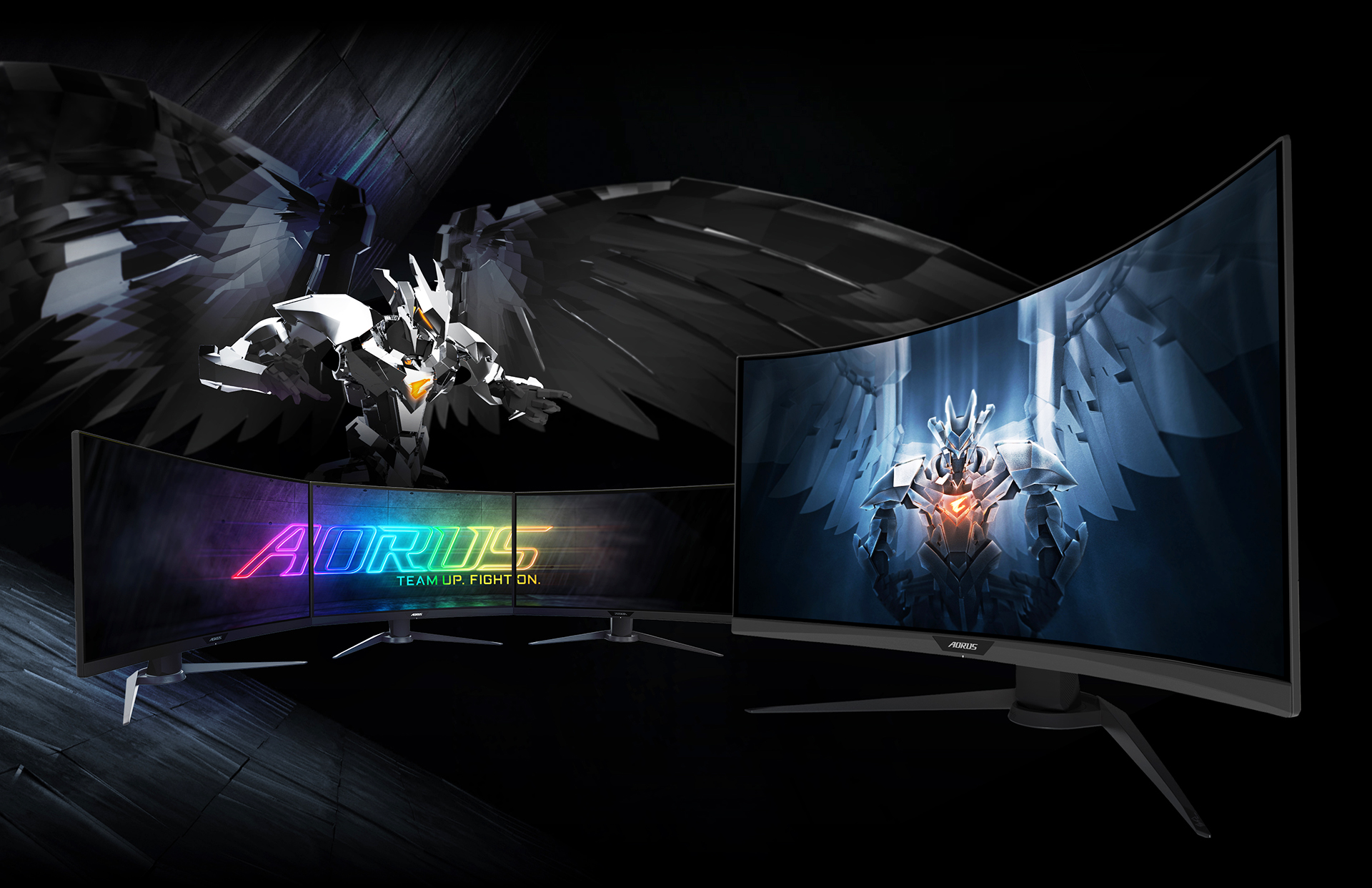 The Gigabyte Aorus CV27Q Offers 1440p Gaming, And Still Boasts The Features Of The 'World's First Tactical Gaming Monitor'