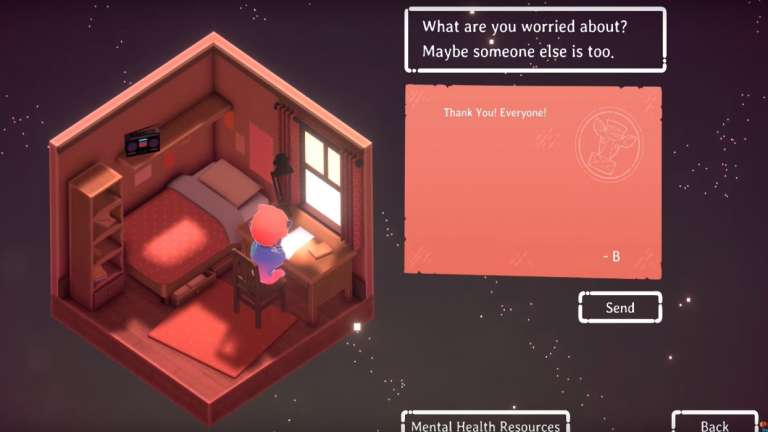 The Charming And Unique Kind Words Is Out Now On Steam; Lets You Talk To Invisible Strangers