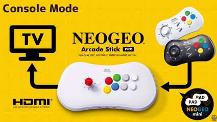 SNK Revealed More Details On Its Brand New Retro Gaming Console, The NEOGEO Arcade Stick Pro