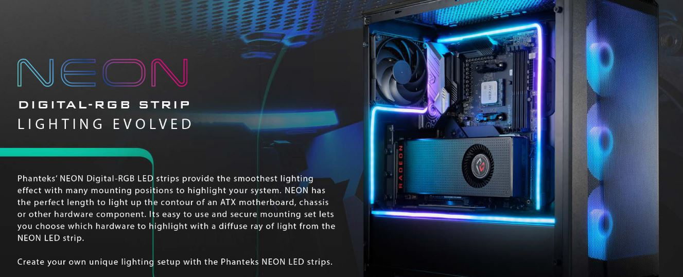 Phanteks Unleashes Three New Products: Eclipse P360X & Evolv