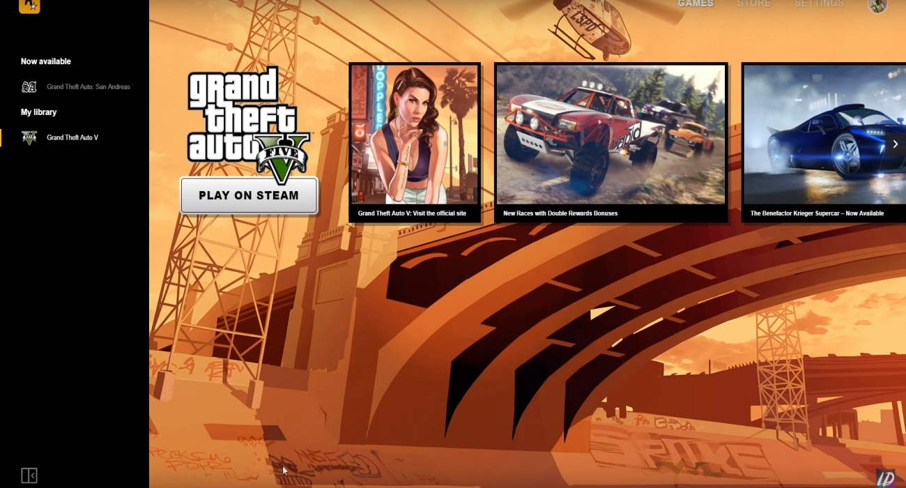 Rockstar Has Officially Unveiled A Games Launcher, Includes A Free Copy Of GTA: San Andreas