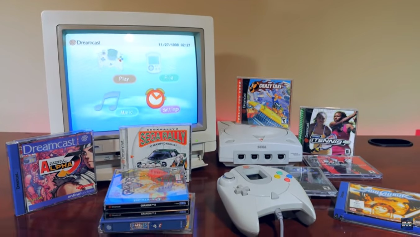 Celebrating Sega's Dreamcast 20th Anniversary, The First Home Console With Built-In Modem