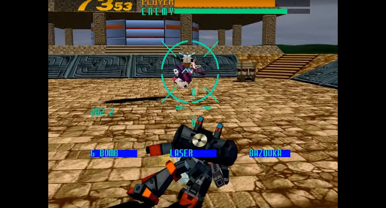 Cyber Troopers Virtual-On: Masterpiece 1995-2001 Is Heading To The PlayStation 4 In Japan