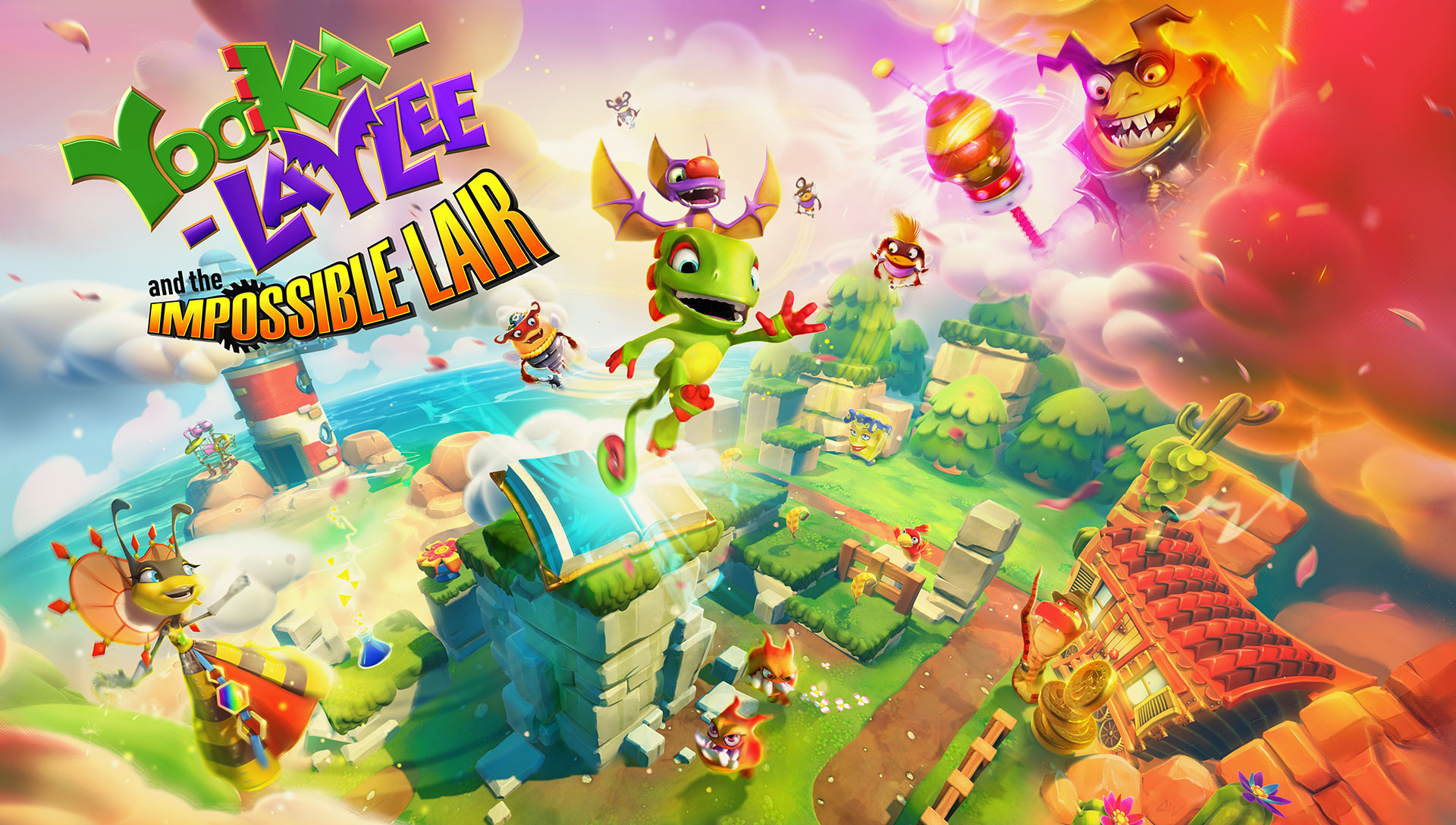 Yooka-Laylee And The Impossible Lair Now Has A Release Date, More Details Are Slowly Being Revealed Along With Prices And Pre-Order Information