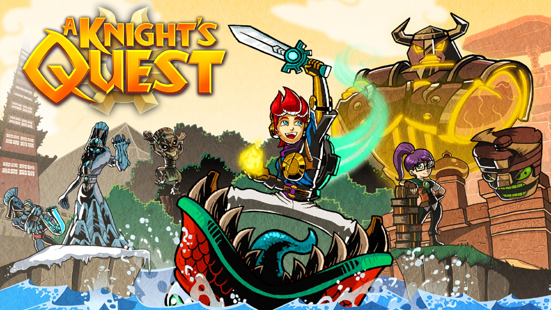 A Knight's Quest Is Coming To All Major Platforms In A New 3D Adventure, It Is Time To Go On A New Kind Of Quest To Save The Land Of Regalia
