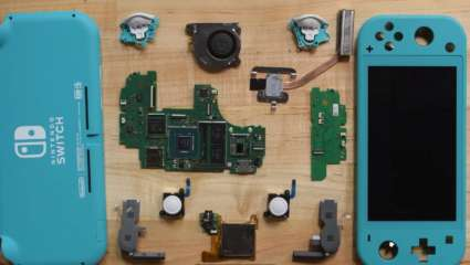 Recent Ifixit Nintendo Switch Lite Disassemble Reveal A Modified Analogue Joystick To Possibly Prevent Drifting