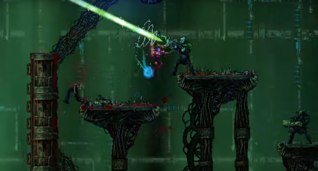 The Unique Space Platformer With Metal Music Valfaris Releases This October According To Launch Trailer