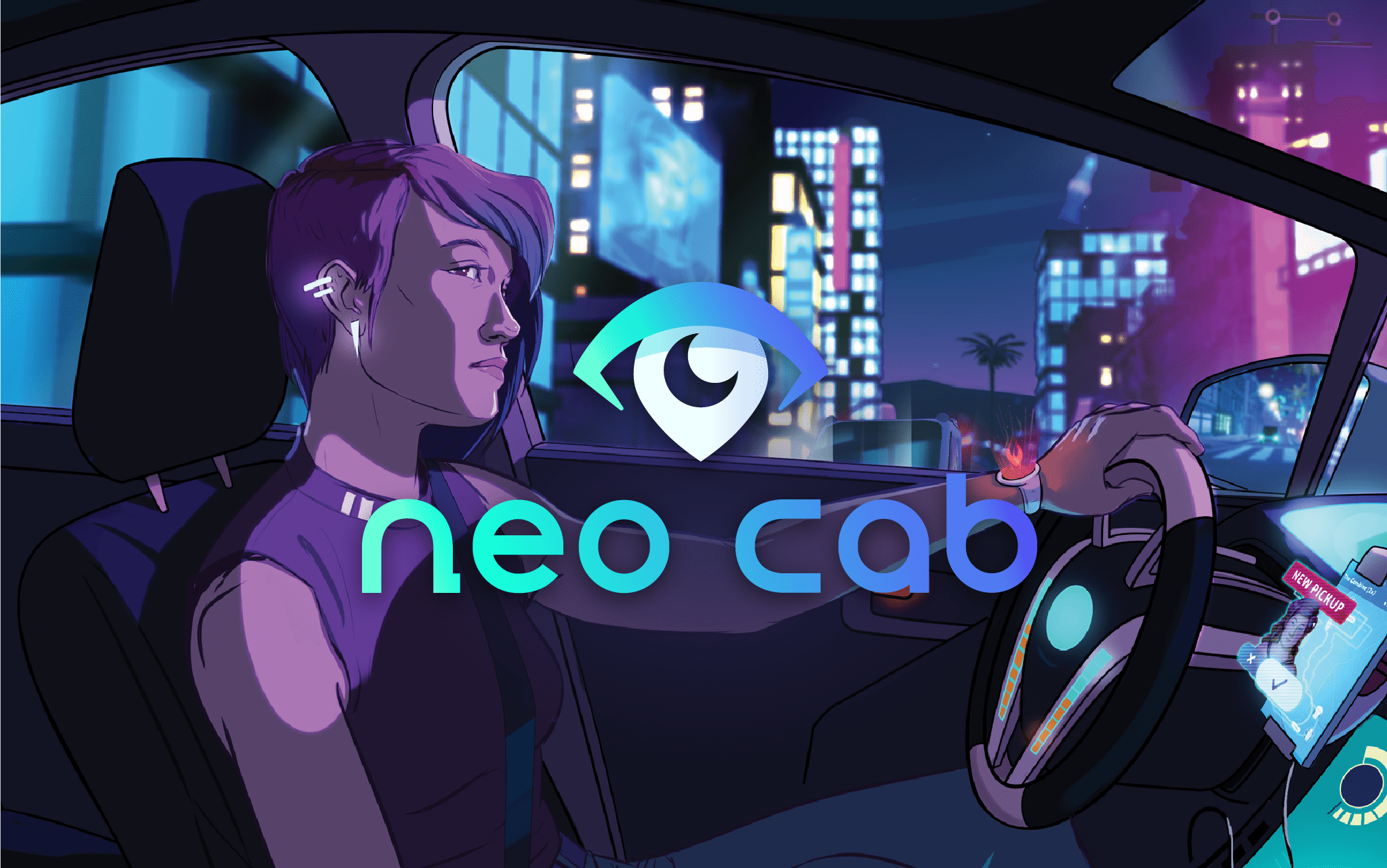 Neo Cab Cruises Onto Nintendo Switch With A Demo, Set For An October Release Date