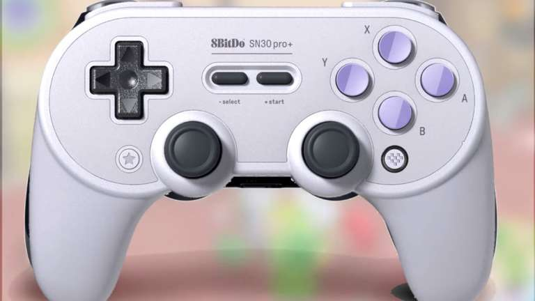 The SN30 Pro+ By 8bitdo Is A Better Quality Controller Compared To The Nintendo's Switch Pro