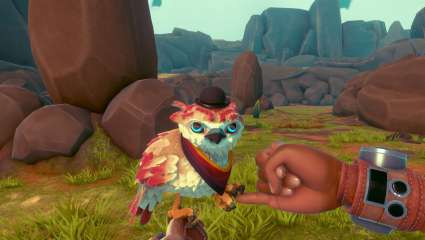 Falcon Age Is A New Game Where Your Best Friend Is A Bird And Together You Battle Robots
