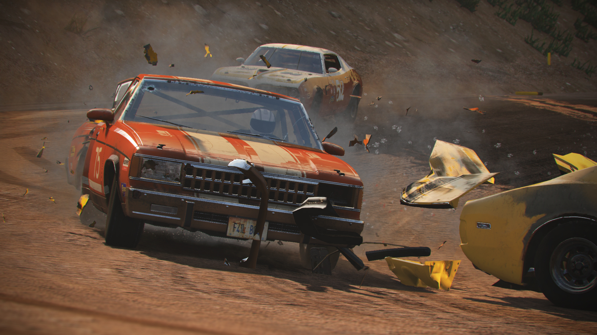 Wreckfest Races To The Top Of The Charts In Australia, Followed By Control And Astral Chain