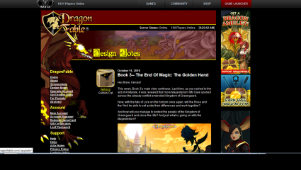 Dragonfable Updating The Game To Continue Its 14 Year Long Storyline