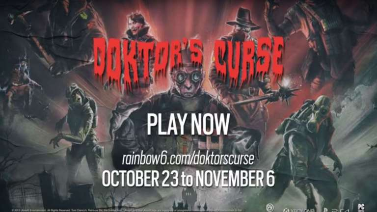 Rainbow Six Siege Is Getting A Halloween-Themed Event Called Doktor's Curse; Includes A New 5 v. 5 Mode