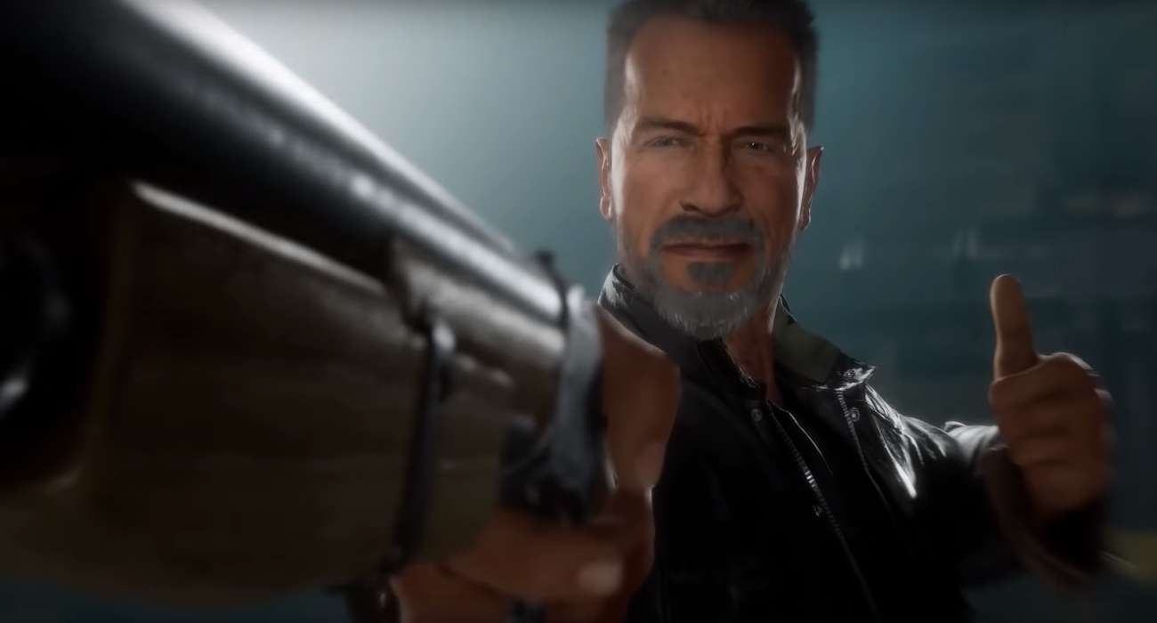 '90s Kids Rejoice! New Mortal Kombat Just Added Arnie's Terminator
