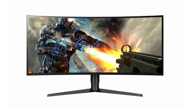 Complete Your Gaming Station LG 34-Inch 34GK950G High-Resolution IPS Curved Monitor
