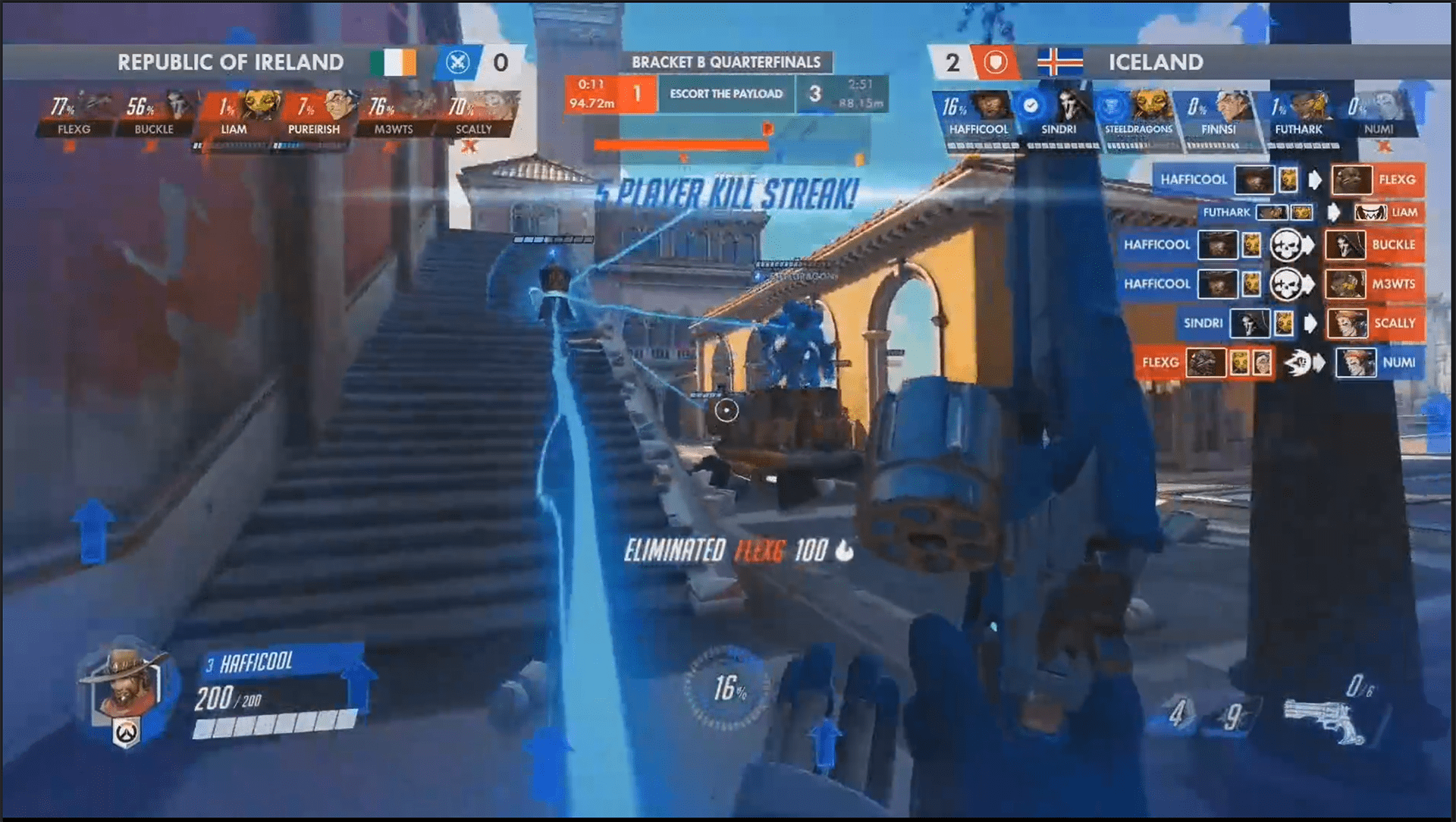 Austria And Republic Of Ireland Eliminated From Overwatch World Cup In First Hour Amid Technical Difficulties