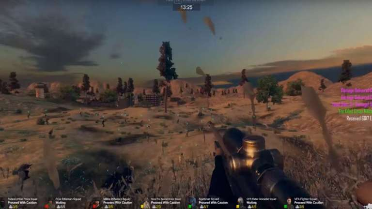 The Unique First-Person Shooter Freeman: Guerrilla Warfare Is Now Available On Steam