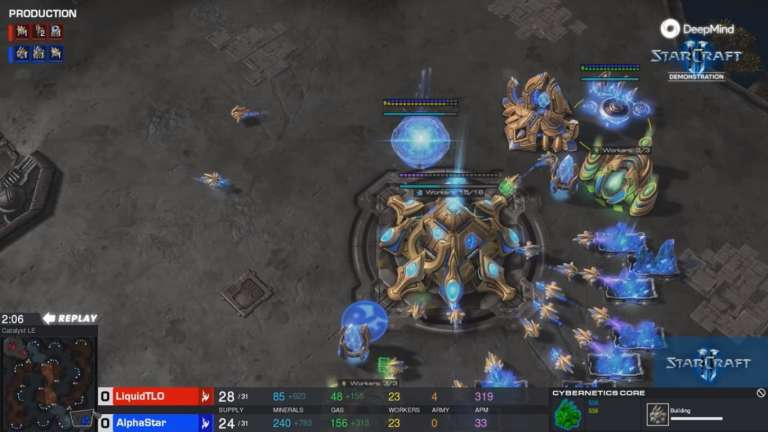Deepmind Announces A New Milestone For Its AI That Reaches StarCraft 2 Grandmasters