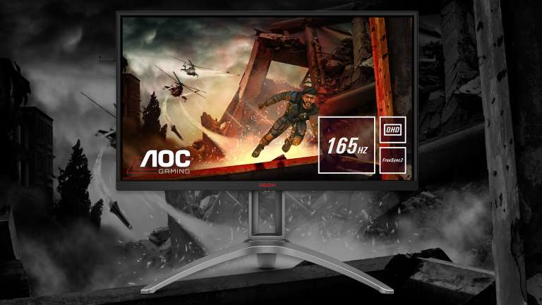 AOC Unveils The New AOC Agon AG273QX, A 27-Inch Gaming Monitor Boasting eSports-Level Performance