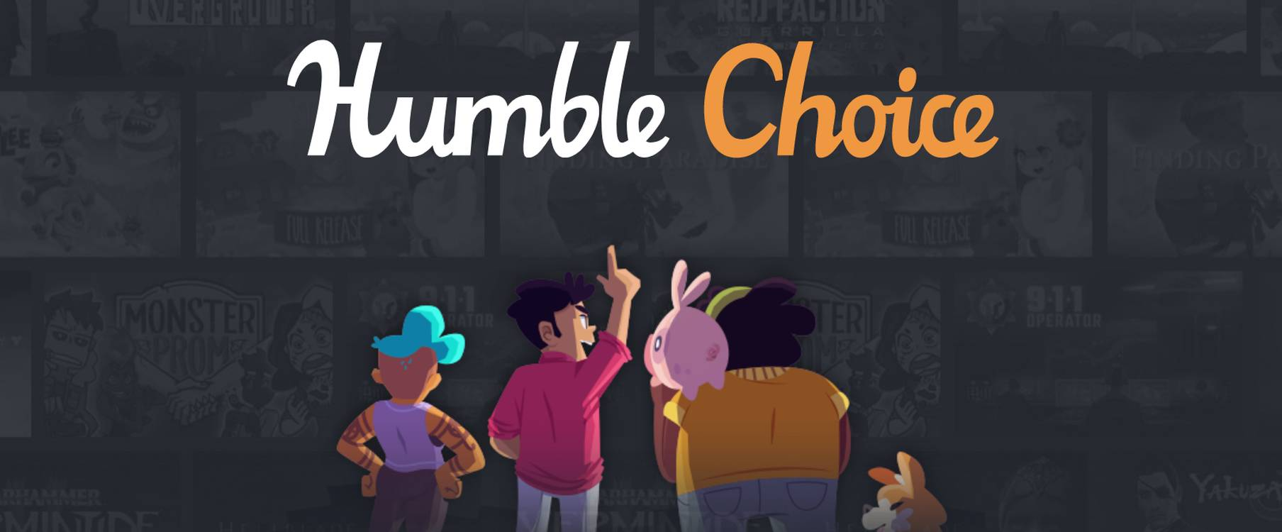 Humble Monthly Subscription Evolving Into Pricier New Service Humble Choice