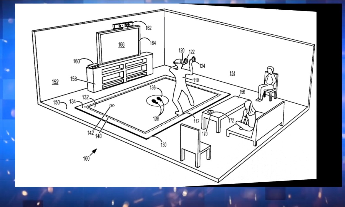 Microsoft's New Patent On Virtual Reality Floor Mat Seen To Reduce Accidents Involving Users