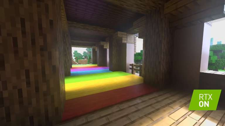 Minecraft With Ray Tracing May Need Nvidia's RTX 2060, At The Very Least, Sandbox Title Offers Honey Block For Parkour Lovers