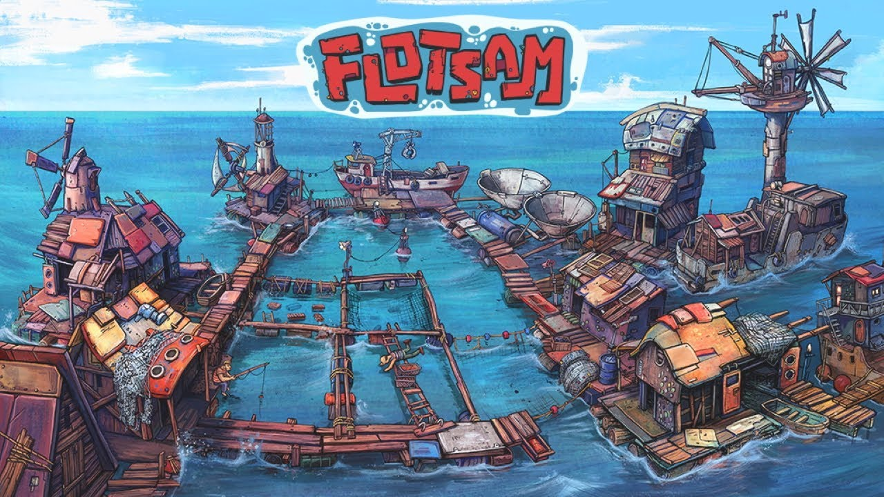 A Beautiful New Game Is In Early Access But This One Lets You Rebuild Society With Garbage, Welcome To Flotsam