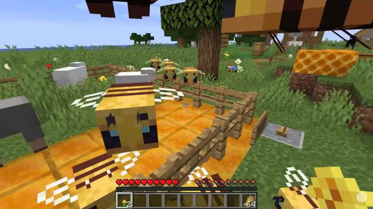 Latest Minecraft Patch Introduces Honey Block To The Game, Nether Offered As Latest Tourist Destination