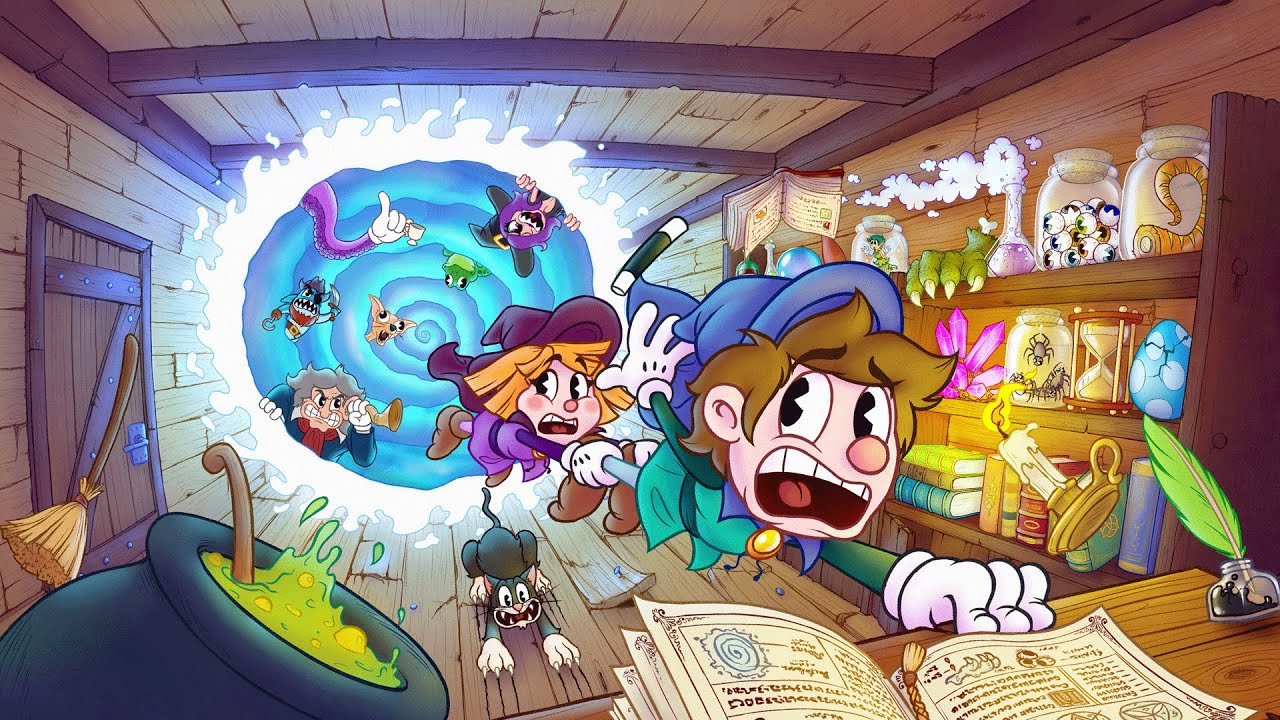 Enchanted Portals Is Starting Their Kickstarter Campaign On October 24, A Cuphead-Style Game Destined For A Life On The Switch