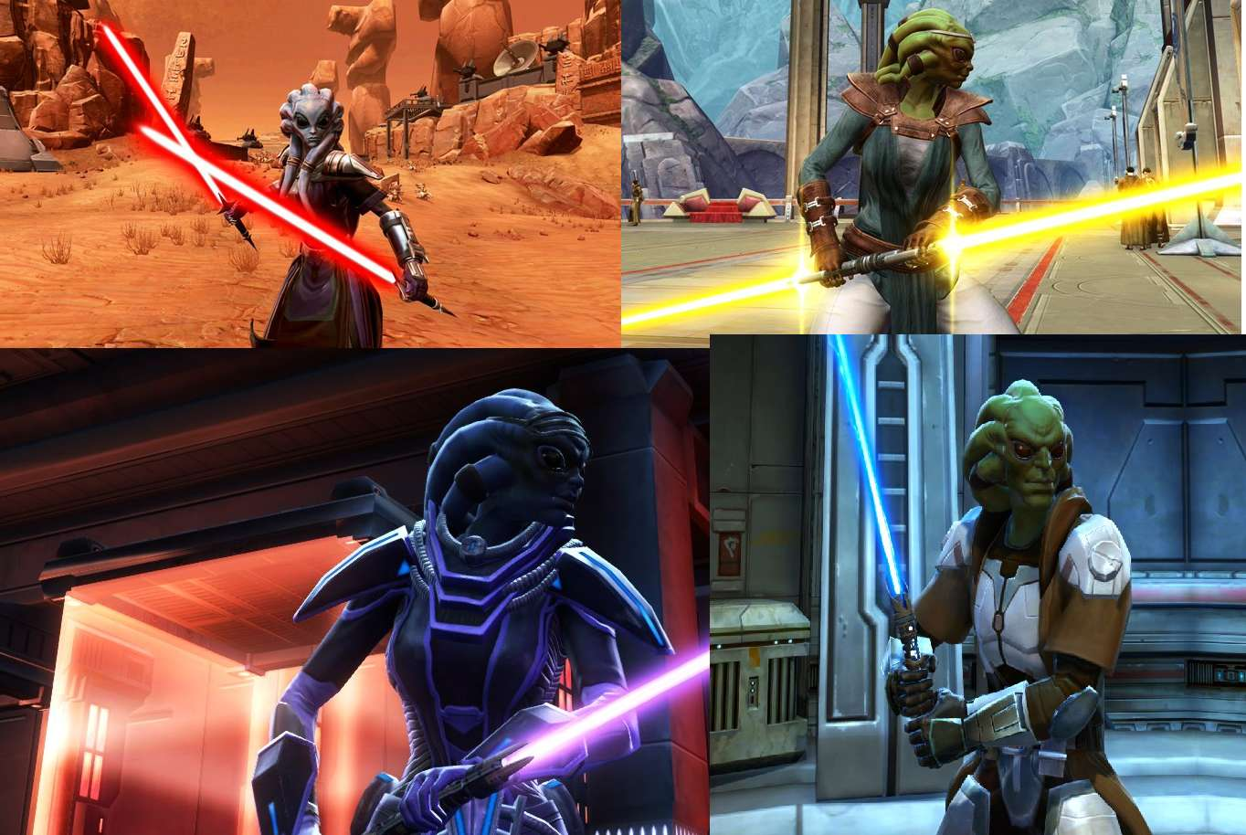 Nautolan Character Creation As Dynamic As Others In Star Wars The Old Republic