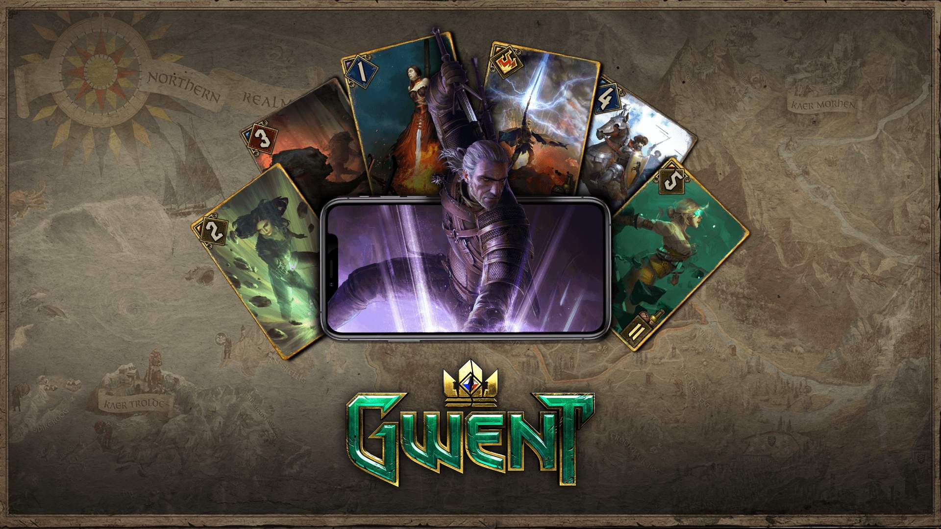 GWENT: The Witcher Card Game Now Available Free on iOS With Launch Bonuses