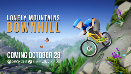 Lonely Mountains: Downhill Will Be Released October 23 To All Xbox One, PlayStation 4, And Steam, A New Biking Adventure Heading Down A Mountain