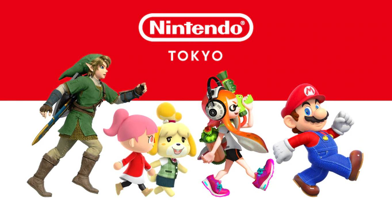 Nintendo Announces Official Store In Tokyo Japan To Open This November