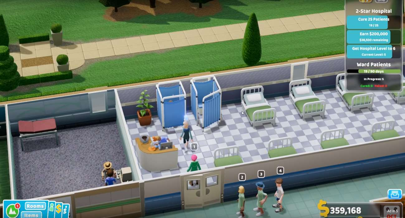 Two Point Hospital By Two Point Studios Is Getting A Halloween Event And Is Heavily Discounted On Steam Right Now