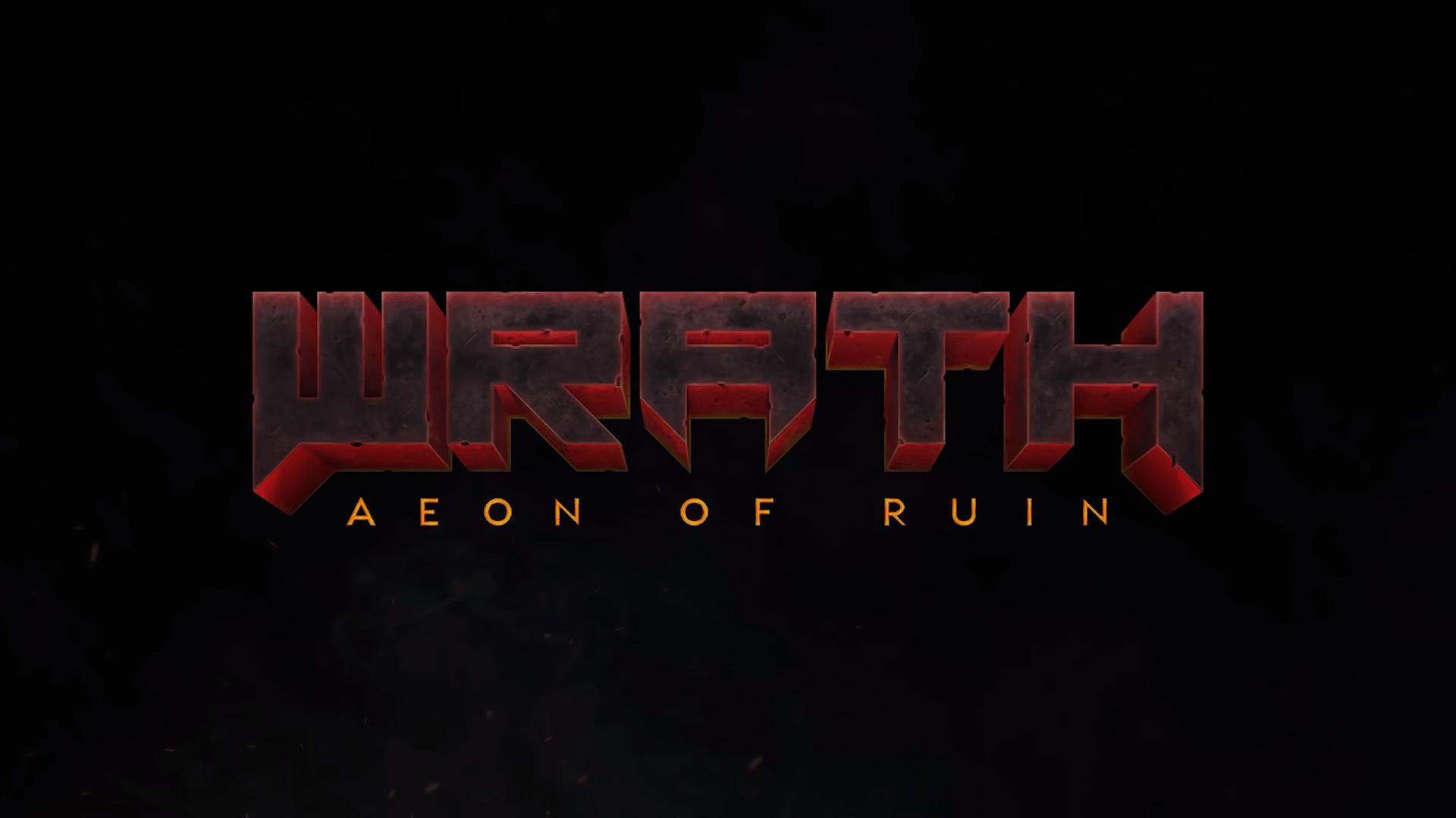 Legendary Developers 3D Realms, Responsible For Duke Nukem, Bringing Hardcore FPS Wrath: Aeon Of Ruin