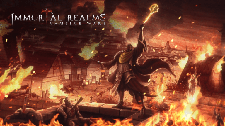 Immortal Realms: Vampire Wars Combines Turn-Based Strategy and Card Game Mechanics