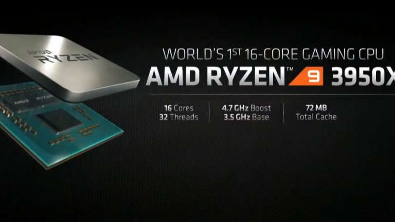 AMD Dominates Processor Race, Defeats Intel, Ryzen 9 3950X Outperforms Core I9-10980XE