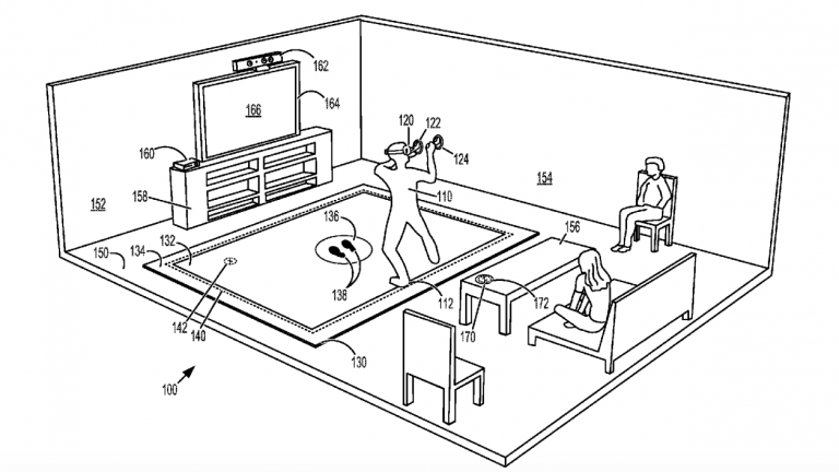 Microsoft's New Patents; VR Mat, Motion Controller, And Stylus Could Be Coming To Xbox