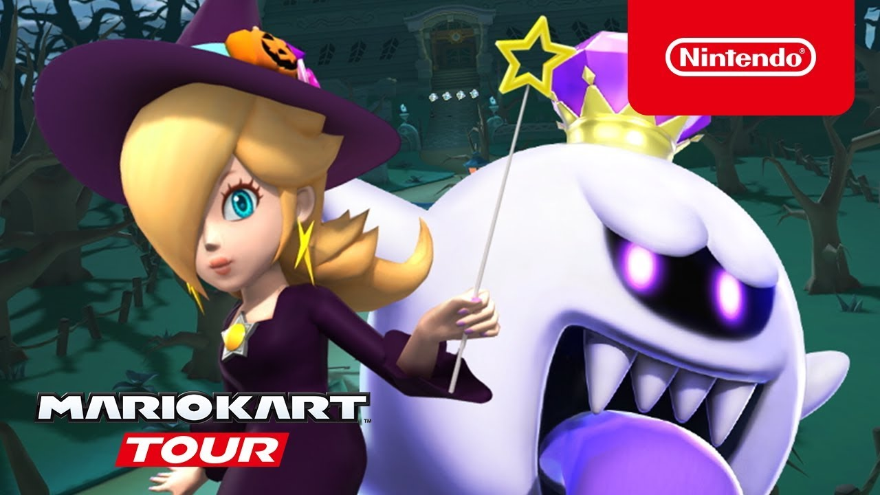 Check In On Mario Kart Tour's First Month And Massive Halloween Tour Event, Tons Of New Content For The Spookiest Time Of The Year