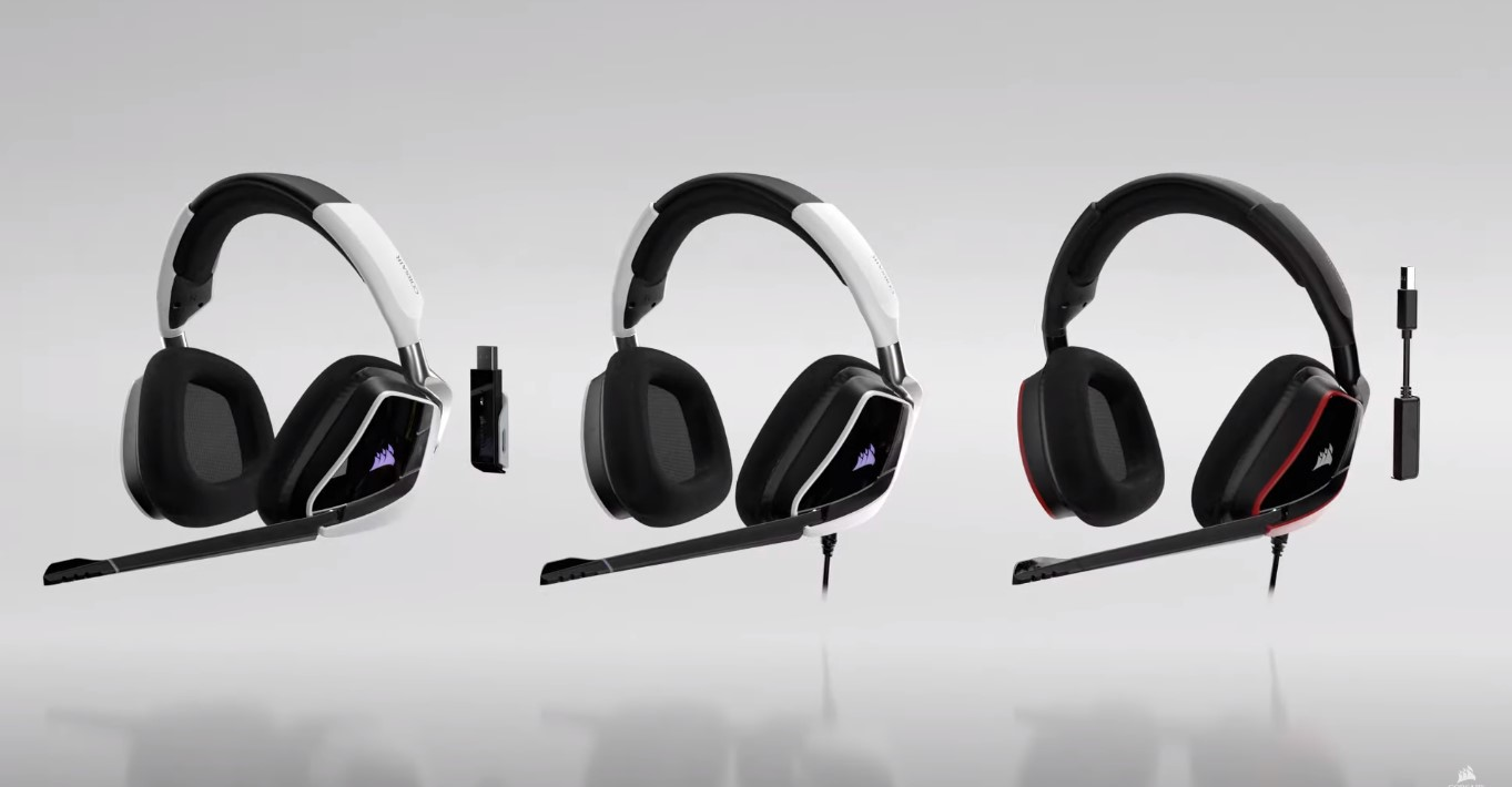 Corsair Announces Release Of The New Void Elite And HS Pro Gaming Headsets, And They All Have Upgraded Audio