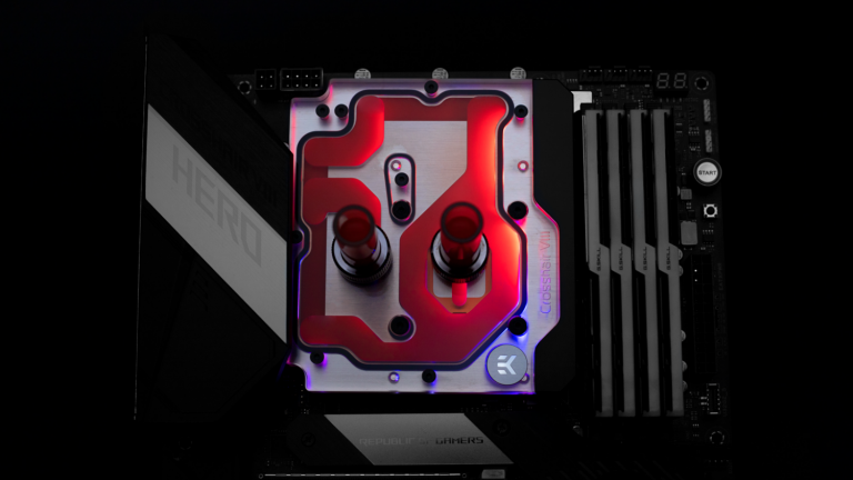 Liquid Cooling Manufacturer Releases Water Block For ASUS X570 ROG Crosshair
