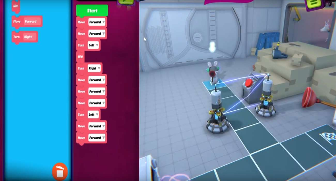 A Coding Game For Kids Called Rabbids Coding Was Just Released For Free By Ubisoft Montreal