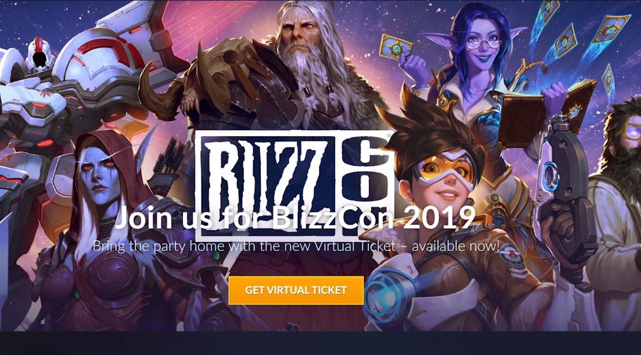 Blizzcon 2019 Virtual Ticket To Offer A Slew Of Goodies That Will Make Blizzards Fans Drool