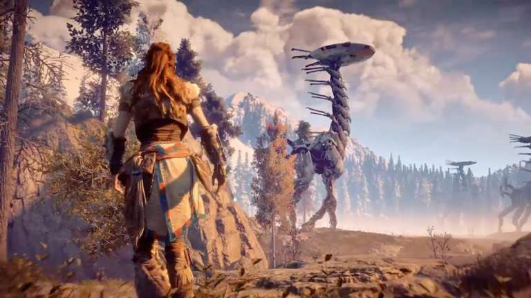 Horizon Zero Dawn Claims Steam's Top Selling Title Four Hours After Opening Pre-Orders