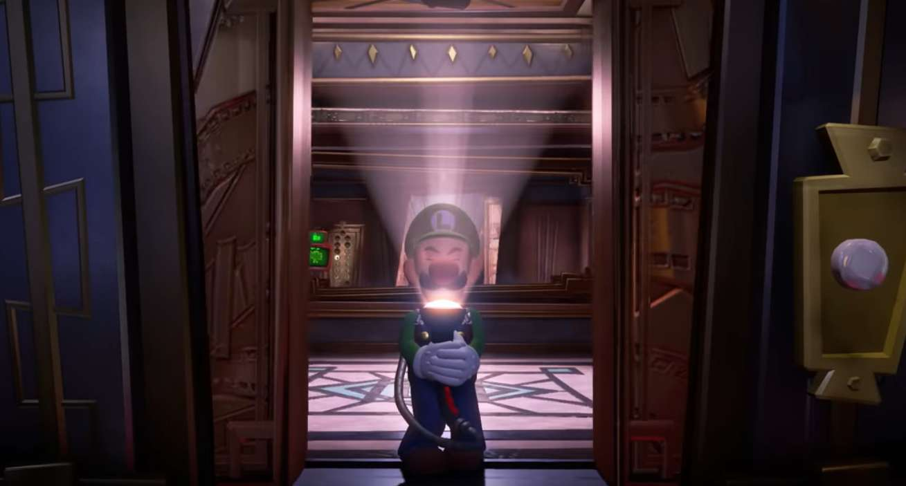 Yes, You Can Pet the Dog in Luigi's Mansion 3