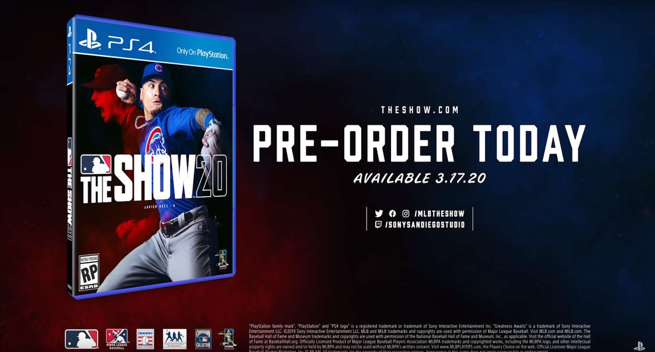 Games Coming Out In March 2020.Javier Baez Was Just Confirmed For The Cover Of Mlb The Show 20