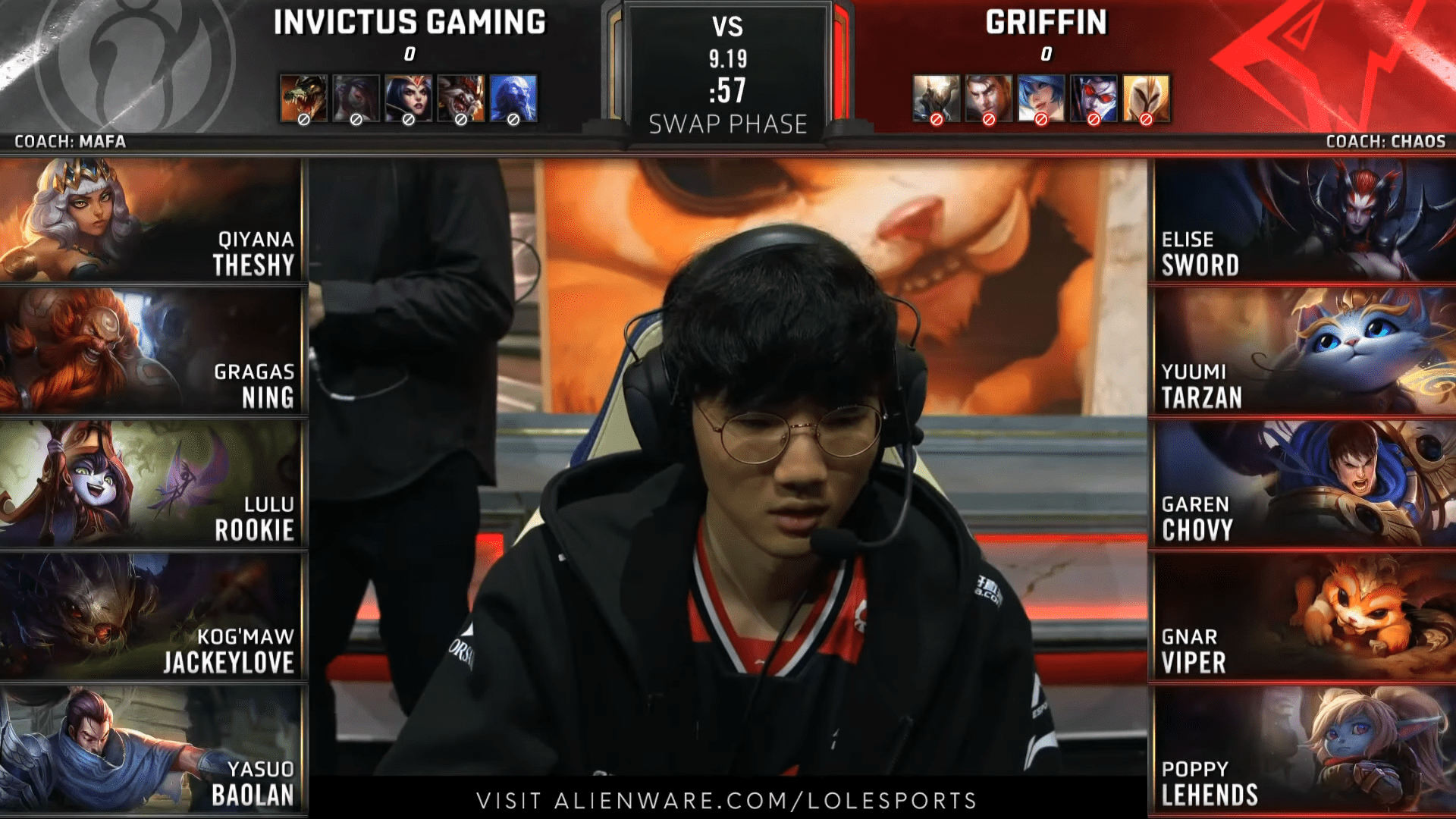 League Of Legends World Championship 2019, Quarterfinal Day 1, Match 1, IG Vs GRF