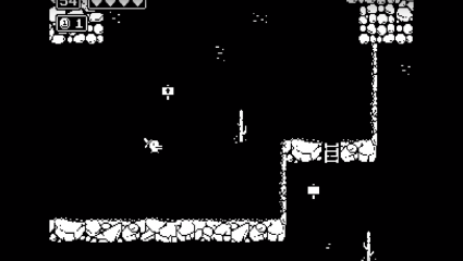 The Black And White Retro Game Minit Is Free For A Week On The Epic Games Store