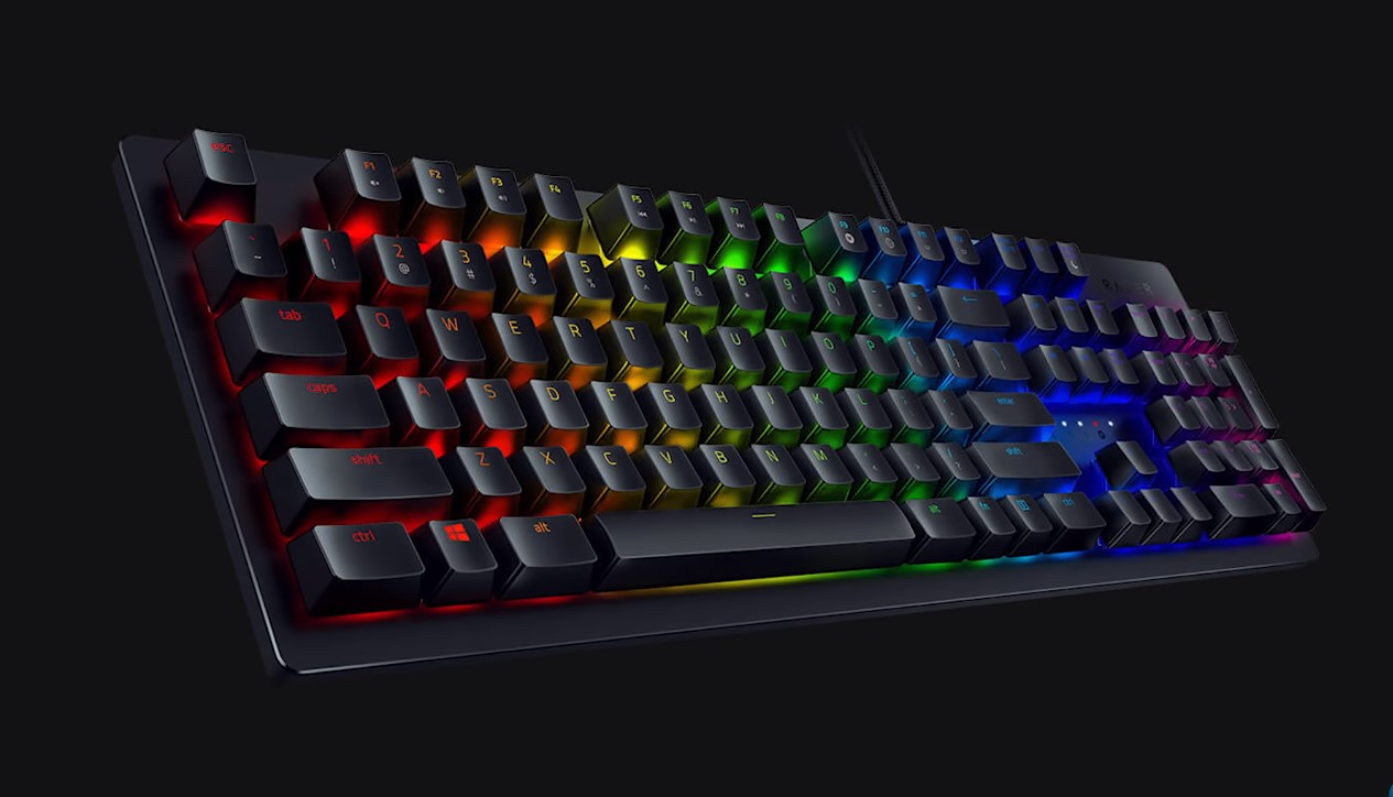 Razer's Huntsman Elite Keyboard Gets An Upgrade With Faster Linear Switches For Competitive Gaming